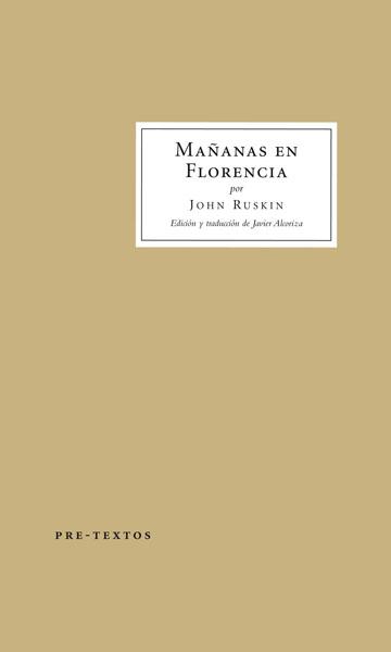 Mañanas en Florencia de John Ruskin