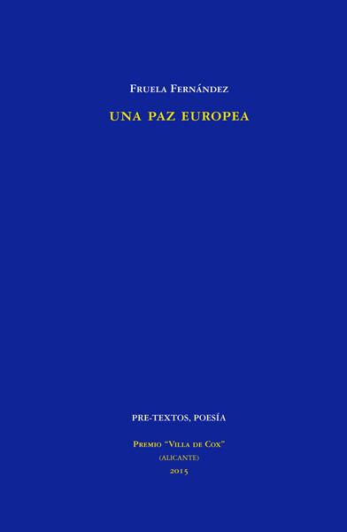 Una paz europea de Fruela Fernández