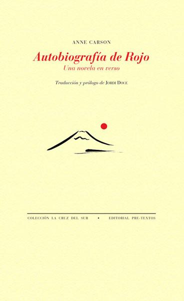 Autobiografía de rojo de Anne Carson