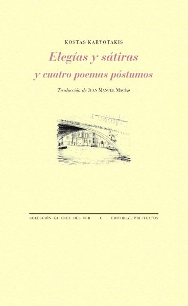 Elegías y sátiras y cuatro poemas póstumos